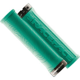 Race Face Half Nelson Grips, turquoise